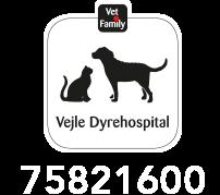 Stort logo for Vejle Dyrehospital